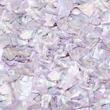 Фиолетовый естественный конец-вверх seashells перламутра драгоценной камня, красивая текстура драгоценной камня Стоковая Фотография RF