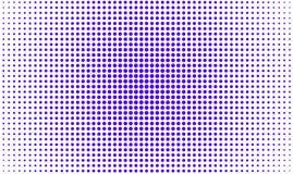 Фиолетовый круг состоя из малых кругов иллюстрация штока