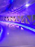 Фиолетовый путь Стоковые Изображения