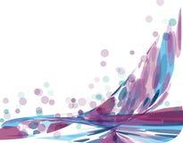 фиолет абстрактной предпосылки голубой Стоковые Фото