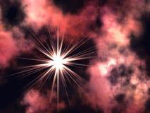 фиолет космоса Стоковое Фото