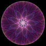 фиолет мандала Стоковое Изображение