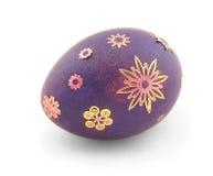 фиолет пасхального яйца Стоковое Изображение