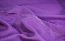 фиолет тканья ткани Стоковые Фотографии RF
