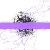 фиолет copyspace предпосылки пурпуровый Стоковые Фотографии RF