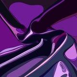 Фиолетовая абстрактная предпосылка занавеса сатинировки Стоковое Фото