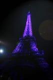 Фиолетовая башня Стоковое Изображение