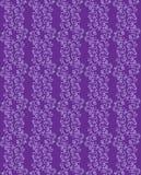 Фиолетовая безшовная предпосылка с цветочным узором Стоковые Изображения RF