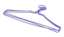 Фиолетовая вешалка Стоковая Фотография