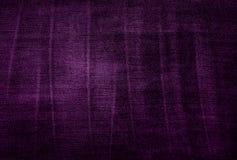 Фиолетовая винтажная текстура ткани Стоковое Фото