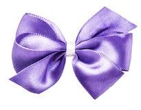 Фиолетовая лента смычка Стоковое Изображение RF