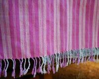 Фиолетовая и белая пряжа Стоковое фото RF