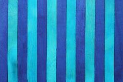 Фиолетовая и голубая деревянная предпосылка Стоковое фото RF