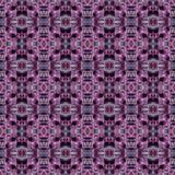 Фиолетовая и розовая абстрактная картина заплатки Стоковое Изображение