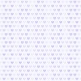 Фиолетовая картина сердца вектор предпосылки безшовный Стоковое Изображение
