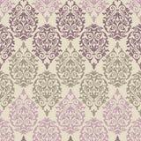 Фиолетовая, коричневая и розовая барочная картина Стоковая Фотография