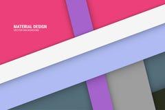 Фиолетовая материальная предпосылка дизайна Стоковое Изображение RF