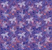 Фиолетовая предпосылка бабочки Стоковое Фото