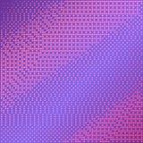 Фиолетовая предпосылка вектора с влиянием полутонового изображения Ровный розовый и фиолетовый градиент Стоковое Фото