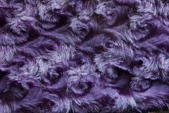 Фиолетовая предпосылка меха свирли Стоковая Фотография RF