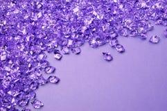 Фиолетовая предпосылка с космосом экземпляра Стоковые Фото