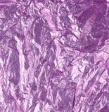 Фиолетовая предпосылка фольги Стоковые Фотографии RF