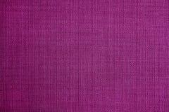 Фиолетовая текстура гобелена как предпосылка Стоковые Изображения