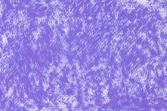 Фиолетовая текстура предпосылки чертежей crayon Стоковые Фото