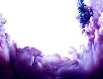 Фиолетовое абстрактное искусство Стоковые Фотографии RF