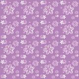 Фиолетовое зажим-искусство заводов и цветков Стоковые Фото