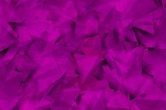 Фиолетовое composiion с углами и тенями стоковое фото
