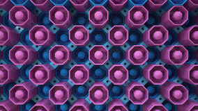 Фиолетовые голубые кнопки обоев Стоковое фото RF