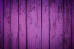 Фиолетовые деревенские деревянные планки Стоковые Изображения RF