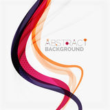 Фиолетовые и оранжевые цветные барьеры на белизне бесплатная иллюстрация