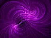 Фиолетовые обои предпосылки свирли Стоковое фото RF