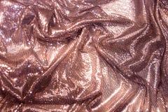 Фиолетовые, розовые, фиолетовые sequins - сверкная sequined ткань Стоковые Изображения RF