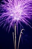 Фиолетовые Airbursts Стоковая Фотография