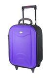 Фиолетовый багаж Стоковые Фото