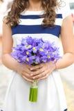 Фиолетовый букет стоковые изображения