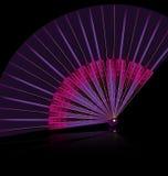 Фиолетовый вентилятор Стоковое Изображение