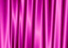 Фиолетовый занавес отражает с светлым пятном на предпосылке Стоковые Фото