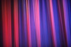 Фиолетовый занавес театра Стоковое фото RF