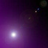 Фиолетовый космос Стоковое фото RF