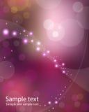 Фиолетовый космос Стоковая Фотография RF