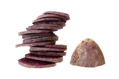 Фиолетовый сладкий картофель Стоковые Фотографии RF
