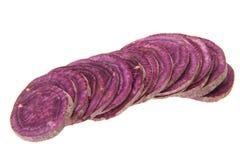 Фиолетовый сладкий картофель Стоковые Фото