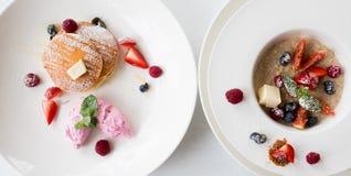 Фитнес еды органического завтрака здоровый Стоковое фото RF