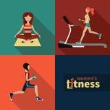 Фитнес женщин Стоковая Фотография