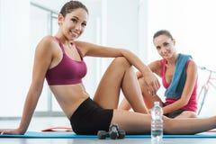 Фитнес и здоровый образ жизни Стоковая Фотография RF