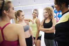 Фитнес с командой Стоковые Изображения